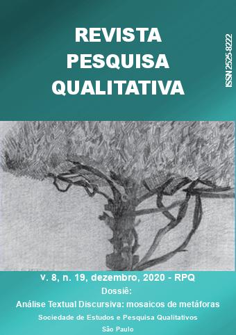 Visualizar v. 8 n. 19 (2020): Dossiê: Análise Textual Discursiva: mosaico de metáforas